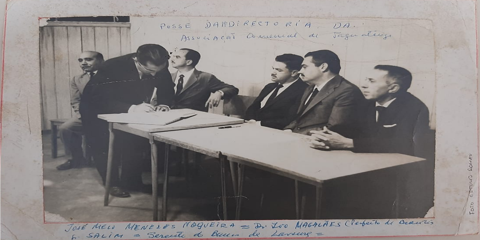 Foto Histórica - Getúlio Romão