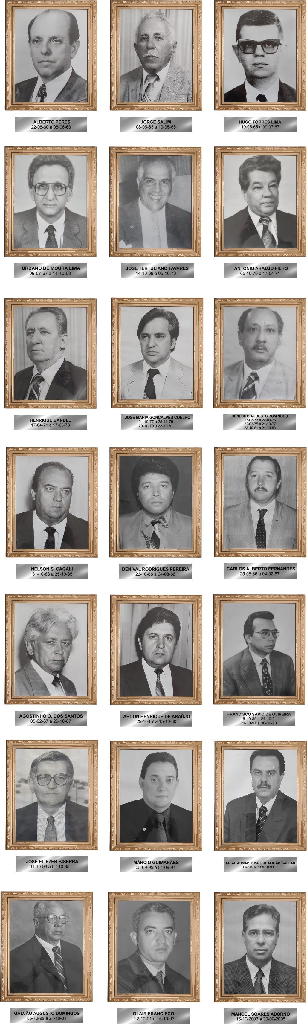 Galeria ex-presidente