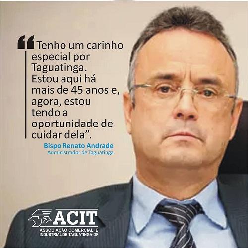 REVITALIZAÇÃO DO COMÉRCIO – Administração e ACIT iniciam projetos para o comércio de Taguatinga.