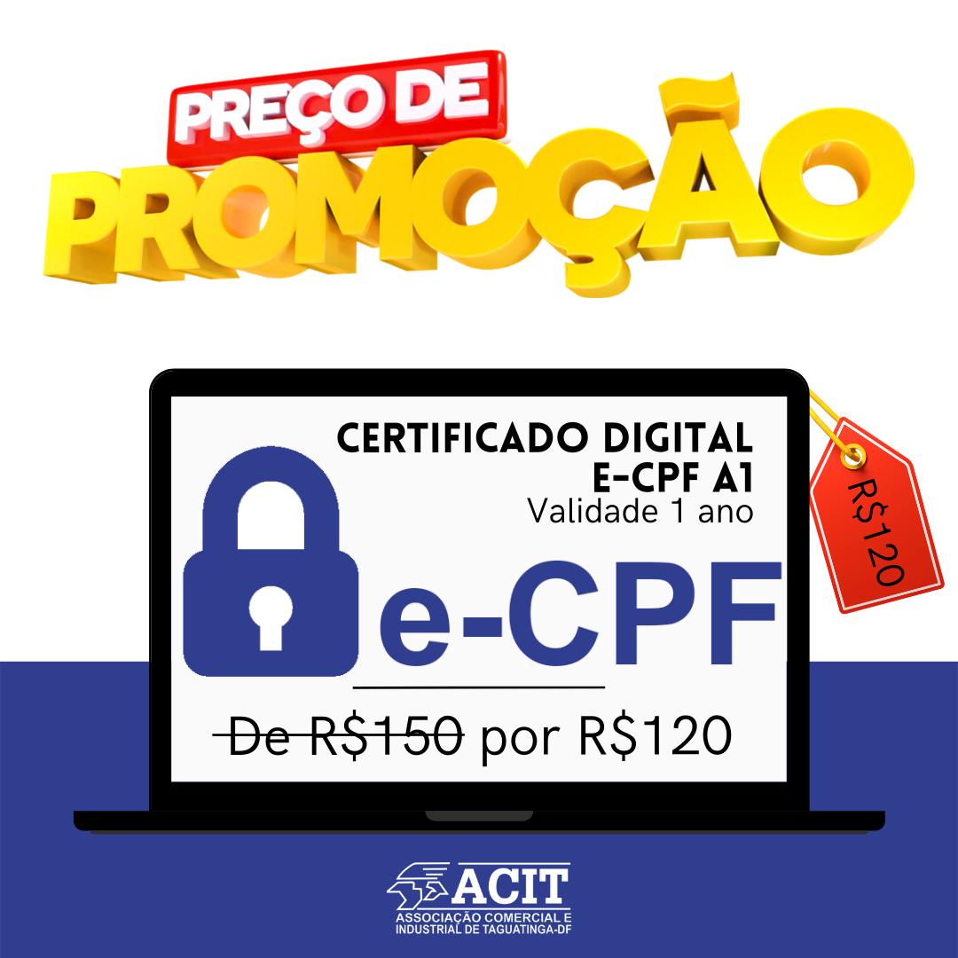 Certificado Promoção