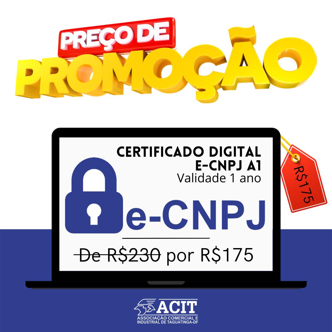Promoção Certificado